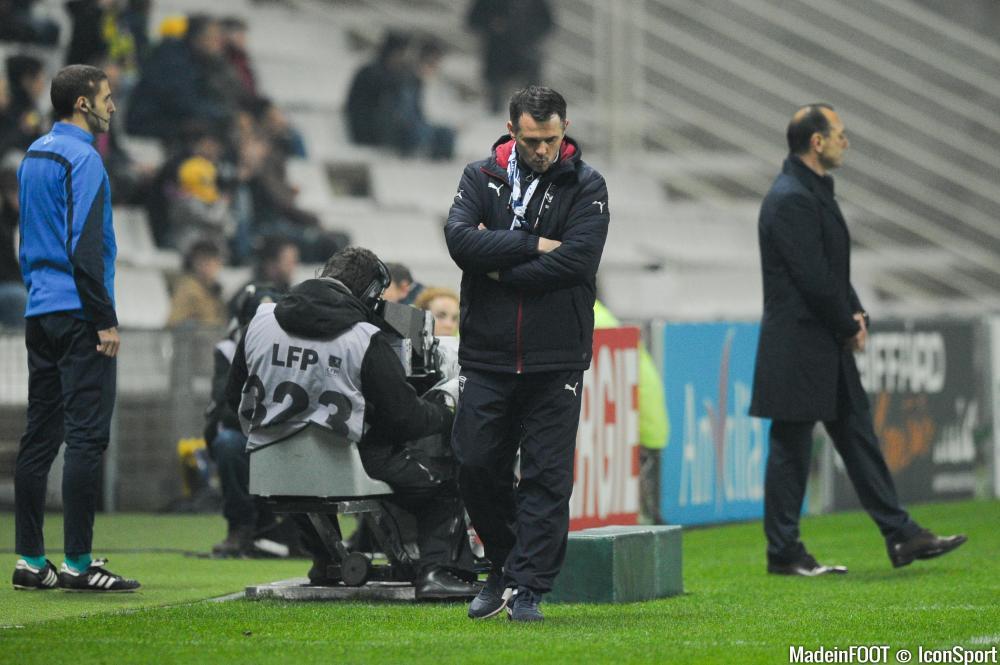 Willy Sagnol et Bordeaux ont chuté face à l'OL (3-0), mercredi soir.