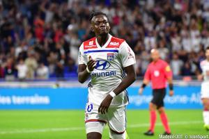 Bertrand Traoré, l'attaquant de l'OL.