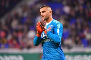 Anthony Lopes, le gardien de but de l'OL.