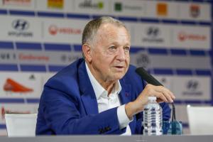 Jean-Michel Aulas, le président de l'OL.