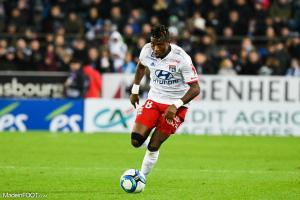Koné est sorti sur blessure face à son ancienne équipe.