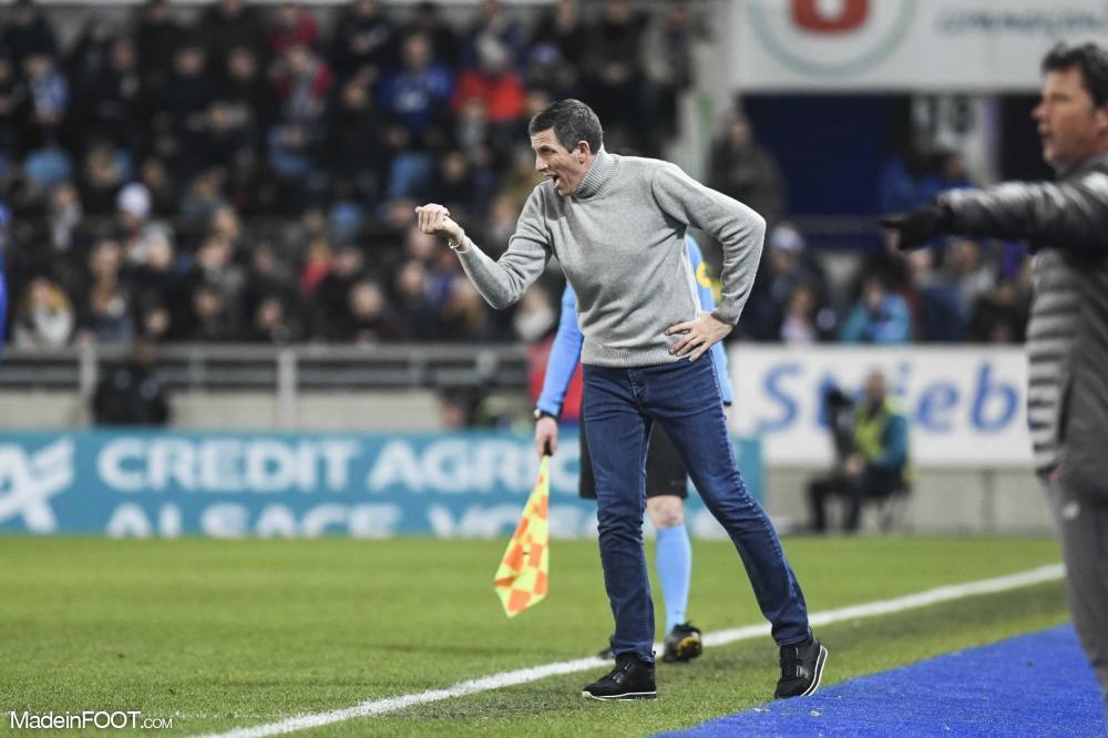 Laurey analyse la défaite de Strasbourg face à Lyon