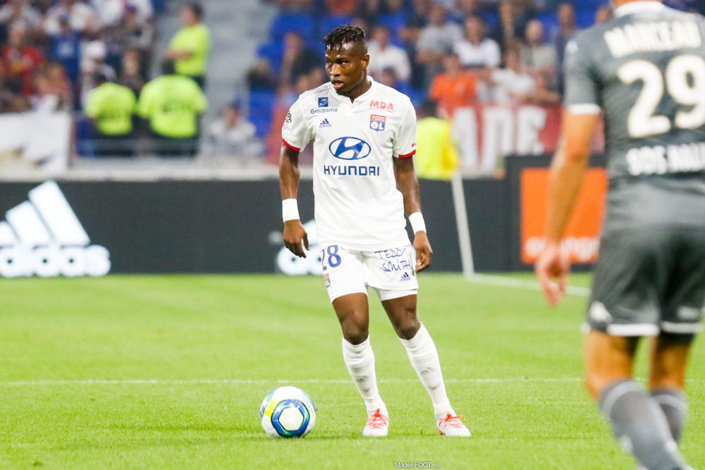Youssouf Koné, le défenseur latéral gauche de l'Olympique Lyonnais.