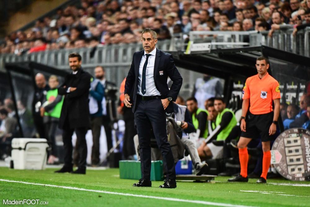 Sylvinho n'aura passé que quatre mois à la tête de l'Olympique Lyonnais.