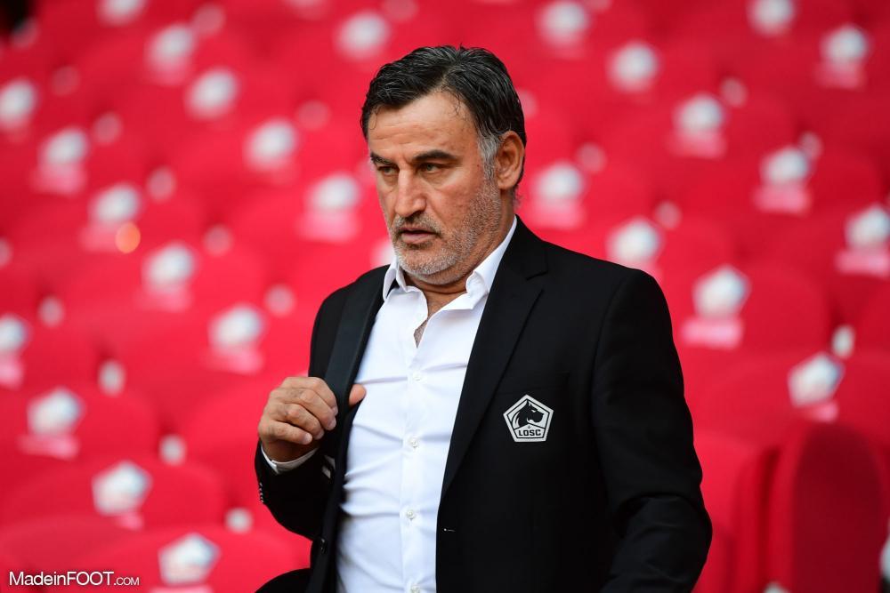 L'Olympique Lyonnais voudrait Christophe Galtier pour remplacer Rudi Garcia à la fin de la saison