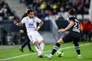 Rafael, le défenseur latéral droit de l'Olympique Lyonnais.
