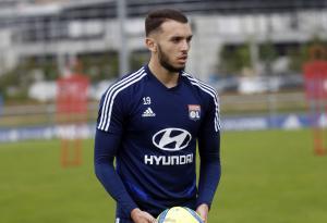 Amine Gouiri, ici sous les couleurs de l'Olympique Lyonnais.