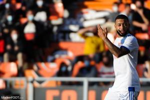 Memphis Depay va rester à Lyon selon Garcia