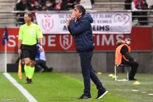 David Guion, entraineur du Stade de Reims