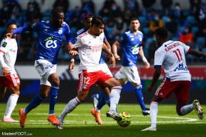 L'album photo du match entre le RC Strasbourg Alsace et l'Olympique Lyonnais.