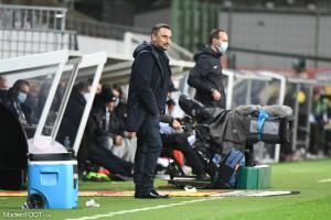 Franck Haise, l'entraîneur du RC Lens.