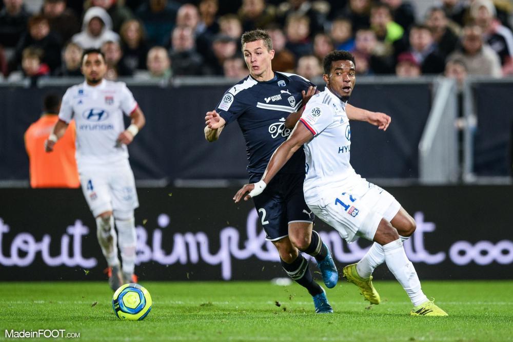 Thiago Mendes, le milieu de terrain de l'Olympique Lyonnais.
