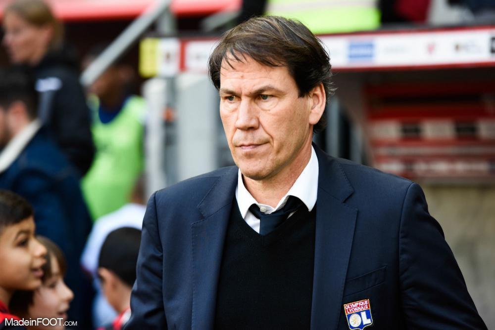 Rudi Garcia, l'entraîneur de l'Olympique Lyonnais.
