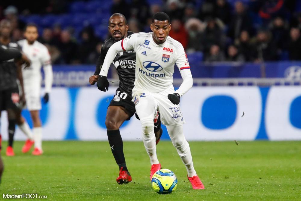 Le joueur, en prêt au Stade Brestois, n'est que légèrement blessé.