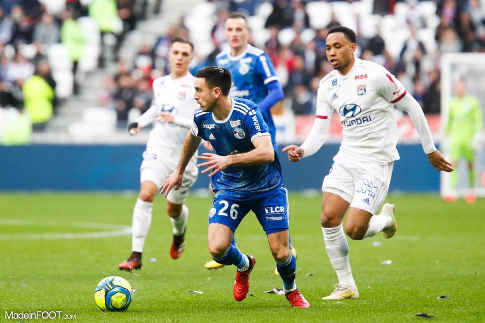Les compos officielles du match entre le RC Strasbourg Alsace et l'Olympique Lyonnais.