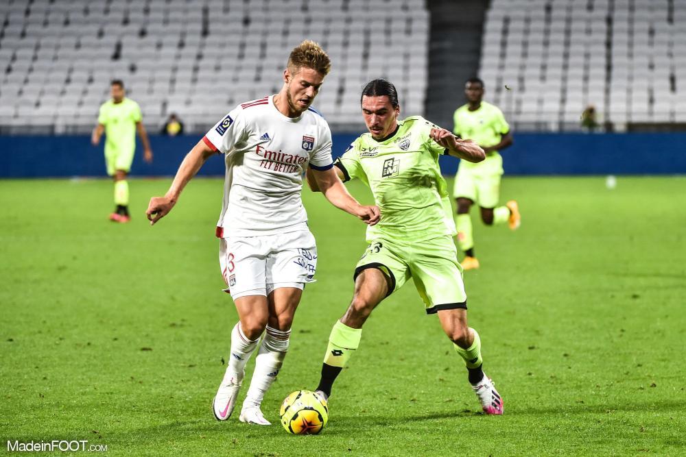 Joachim Andersen a disputé 35 rencontres sous les couleurs lyonnaises entre 2019 et 2020