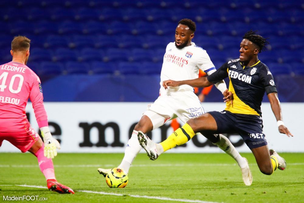L'album photo du match entre l'Olympique Lyonnais et l'AS Monaco.
