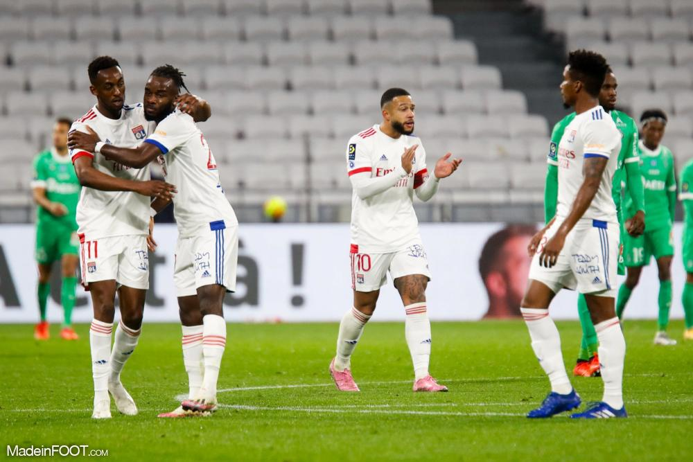 Le résumé du derby gagné par Lyon