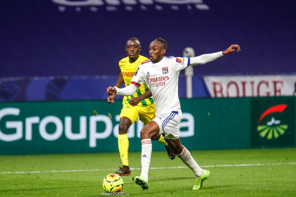 Tino Kadewere face au FC Nantes