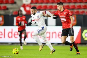 L'album photo du match entre le Stade Rennais FC et l'Olympique Lyonnais.