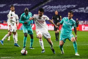 L'album photo du match entre l'Olympique Lyonnais et le SCO Angers.