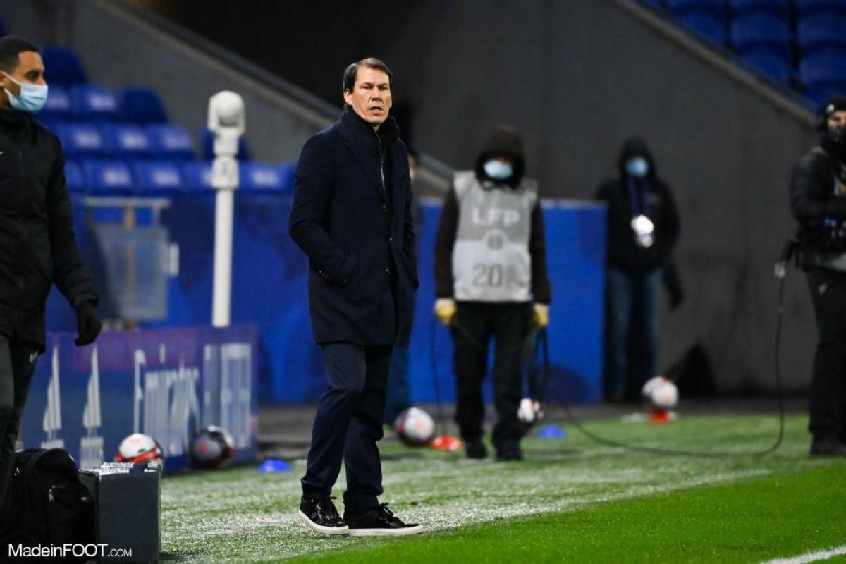 Rudi Garcia face à Metz