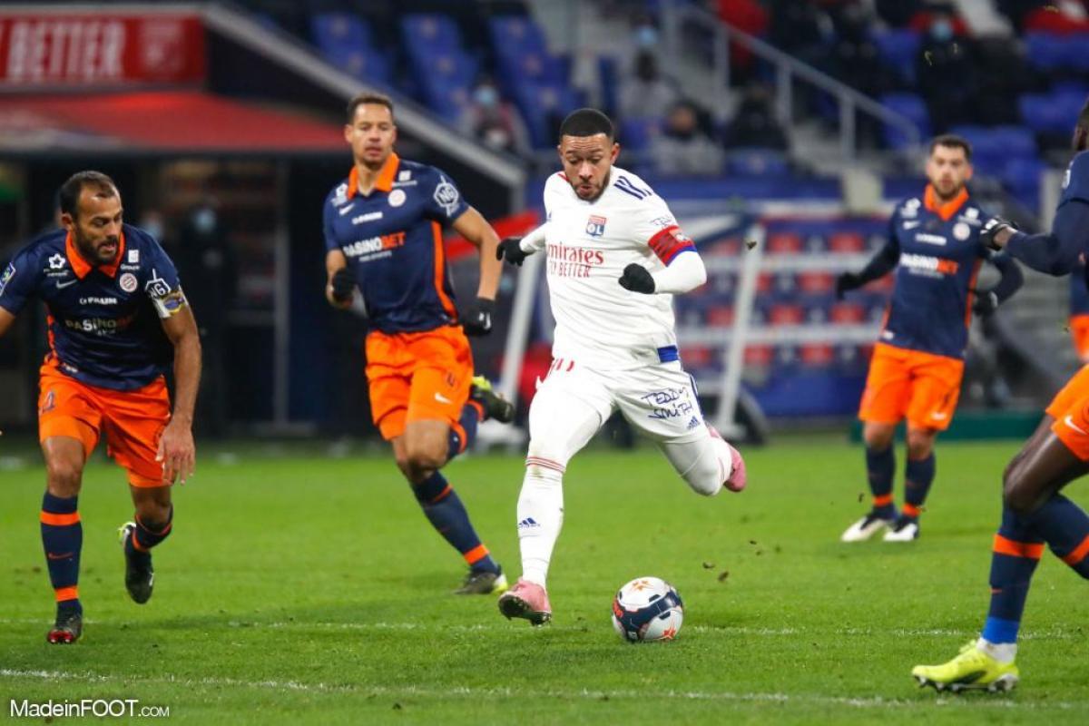 L'Olympique Lyonnais s'est incliné face au Montpellier HSC (1-2), ce samedi soir en Ligue 1.