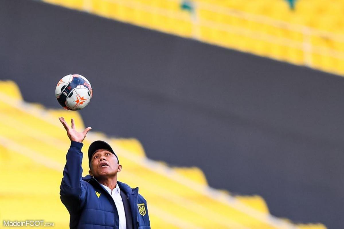 Antoine Kombouaré, l'entraîneur du FC Nantes.
