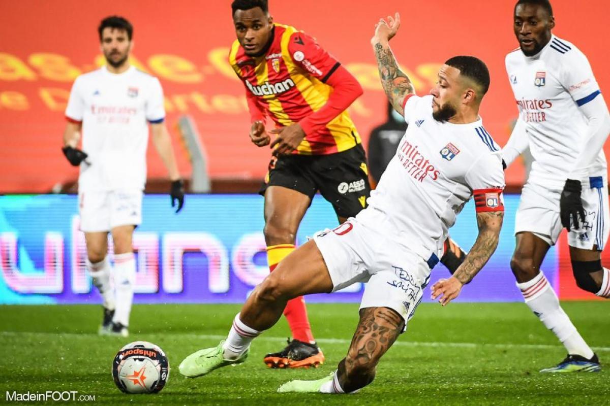 L'Olympique Lyonnais et le RC Lens se sont quittés sur un score de parité (1-1), ce samedi soir en Ligue 1.
