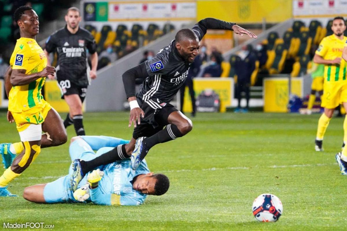 Karl Toko Ekambi, l'attaquant de l'Olympique Lyonnais.