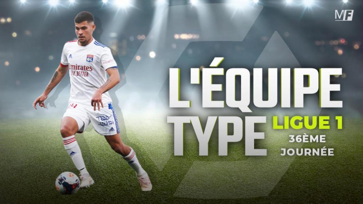 Ligue 1 - Trois Lyonnais dans l'équipe-type de la 36ème journée