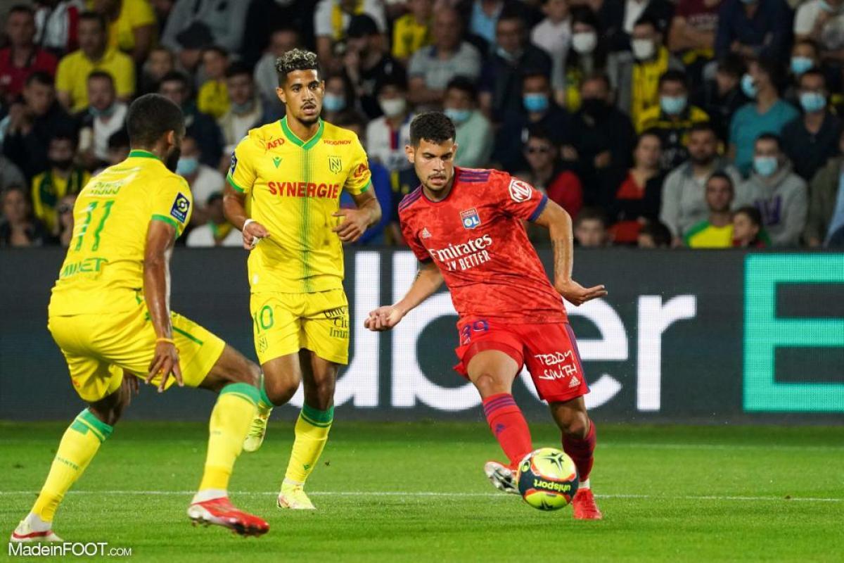 L'album photo du match entre le FC Nantes et l'Olympique Lyonnais.