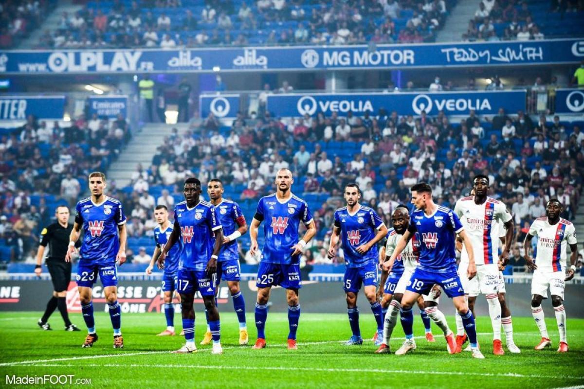 L'album photo du match entre l'Olympique Lyonnais et le Racing Club Strasbourg Alsace.