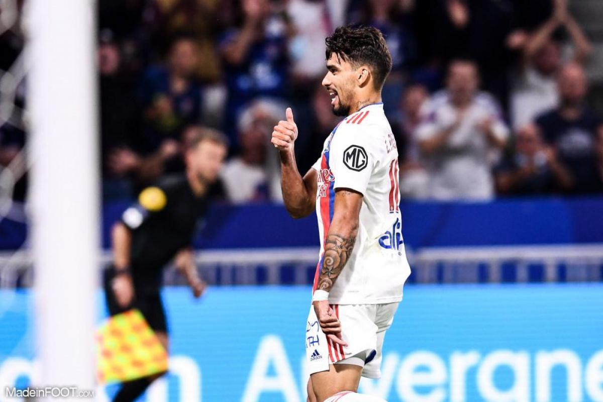 Lucas Paqueta (OL) fait partie des trois finalistes pour le titre de meilleur joueur du mois de septembre en Ligue 1.