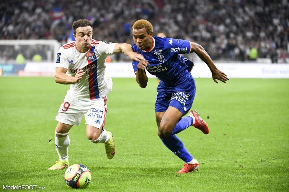 L'Olympique Lyonnais recevait le FC Lorient, ce samedi soir, au Parc OL