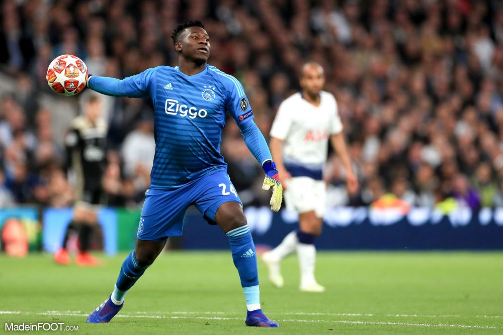 André Onana est le gardien de l'Ajax Amsterdam.