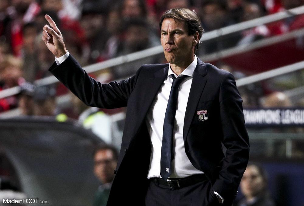 Rudi Garcia a dévoilé les ambitions de l'OL pour le prochain mercato