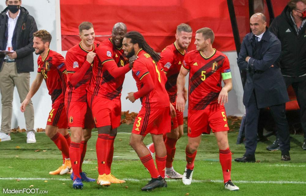 Denayer avec la Belgique