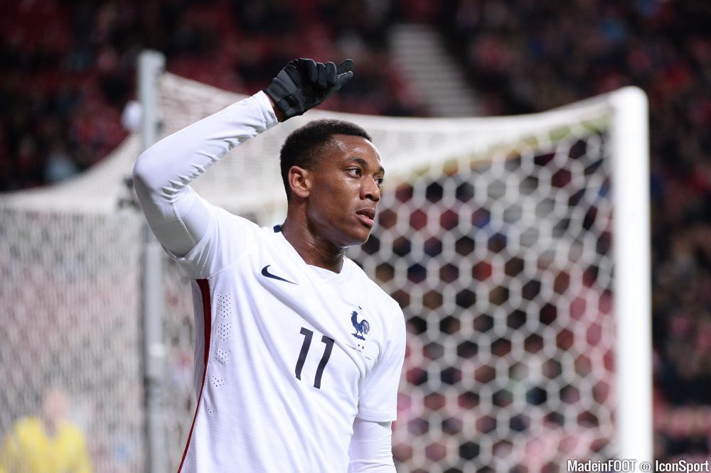 Manchester United, équipe de France... Lyon semble bien loin pour Martial !