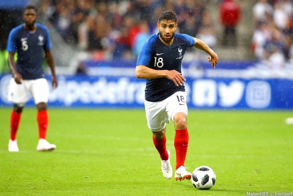 Fekir est resté sur le banc contre l'Italie