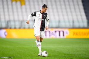Cristiano Ronaldo a inscrit à son tour un pénalty face à l'OL.