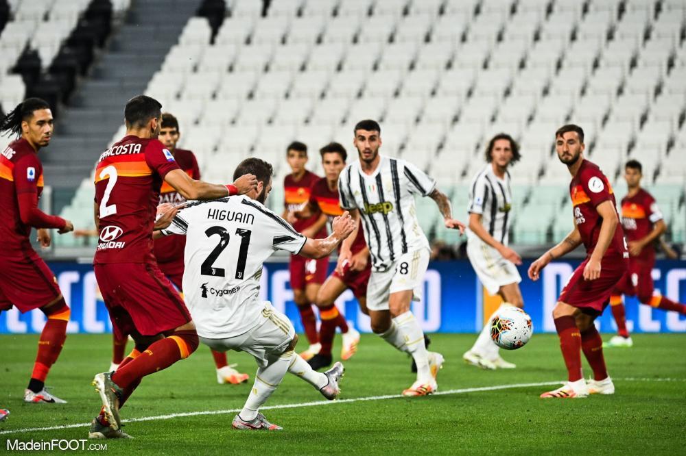 La Juventus Turin s'est inclinée face à l'AS Roma (1-3), ce samedi soir en Serie A.
